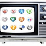 Who will win the war for eyeballs between TV and social media