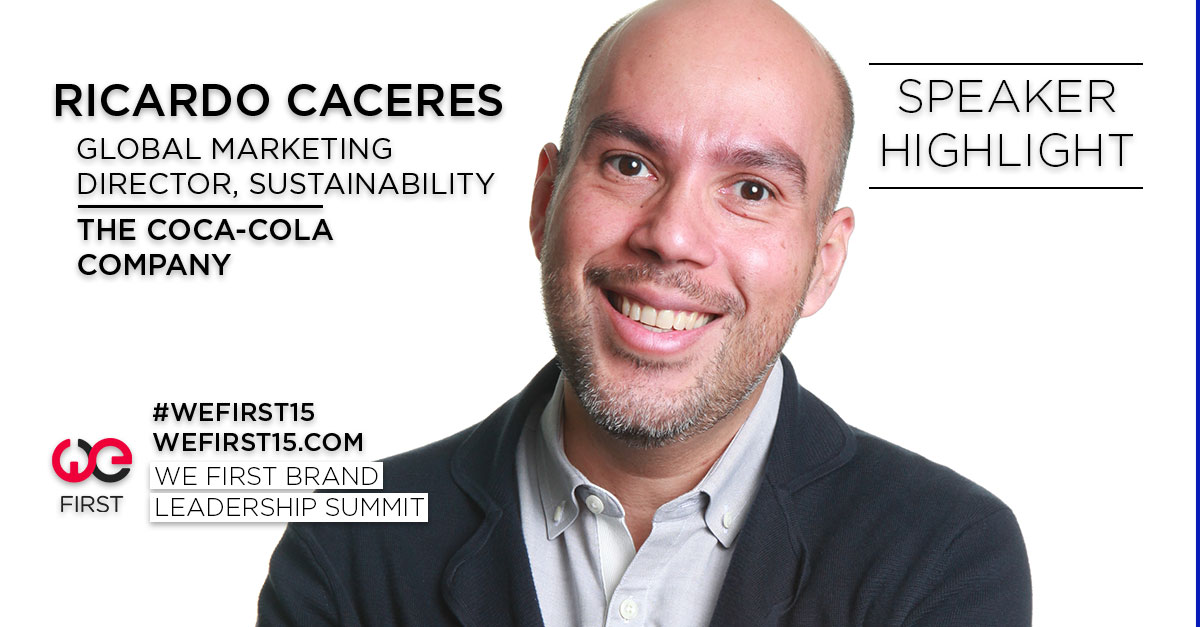 ricardo-caceres, we0first, coca-cola, sustainability