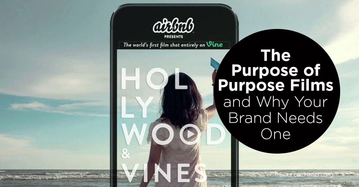 The Purpose of Purpose Films and Why Your Brand Needs One - We First Branding