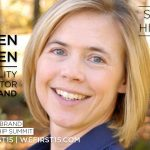 Colleen Vien, Sustainability Director at Timberland,  Guest Speaker at 2015 We First Brand Leadership Summit
