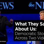What They Say About Us: Democratic Storytelling Across Two Videos